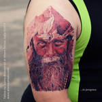Aghori Tattoo by Sunny Bhanushali at Aliens Tattoo by Javagreeen