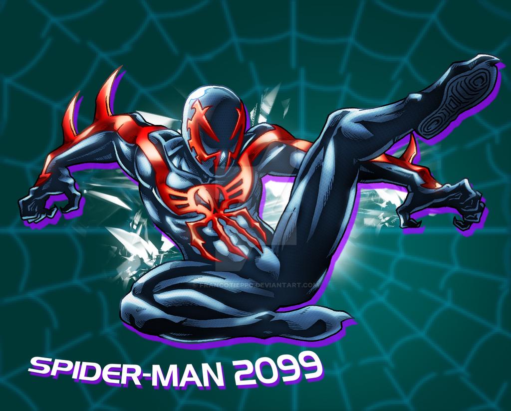 Spider-man 2099 By FrancoTieppo On DeviantArt