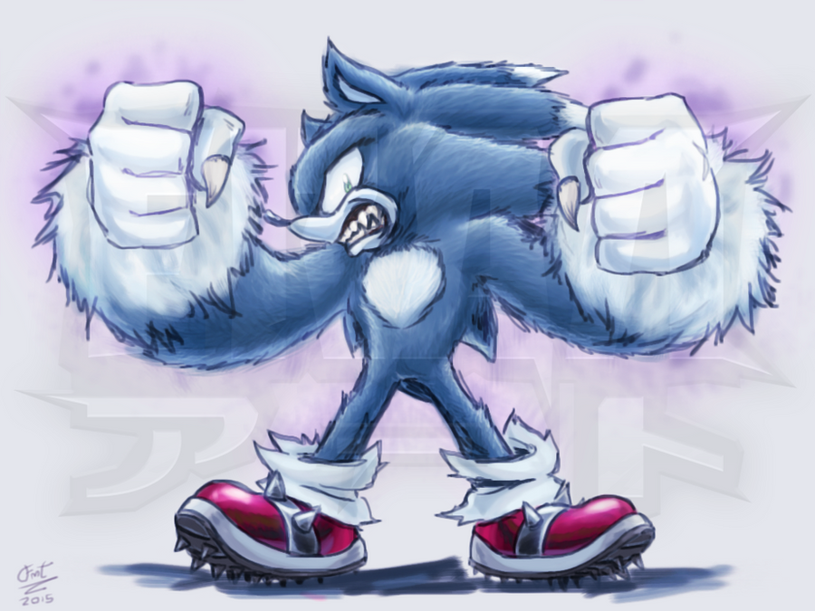 Sonic The Werehog! by FrancoTieppo on DeviantArt