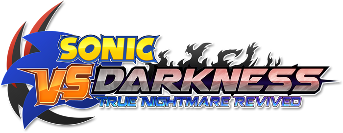 Sonic VS Darkness T.N.R - My take on the logo