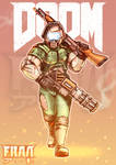Doomed Space Marine