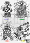 DOOM LADY doodles - Part 3