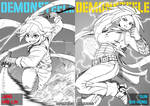 Demonsteele Manga Covers