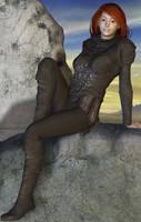 Women of BG: Imoen by Coutelier