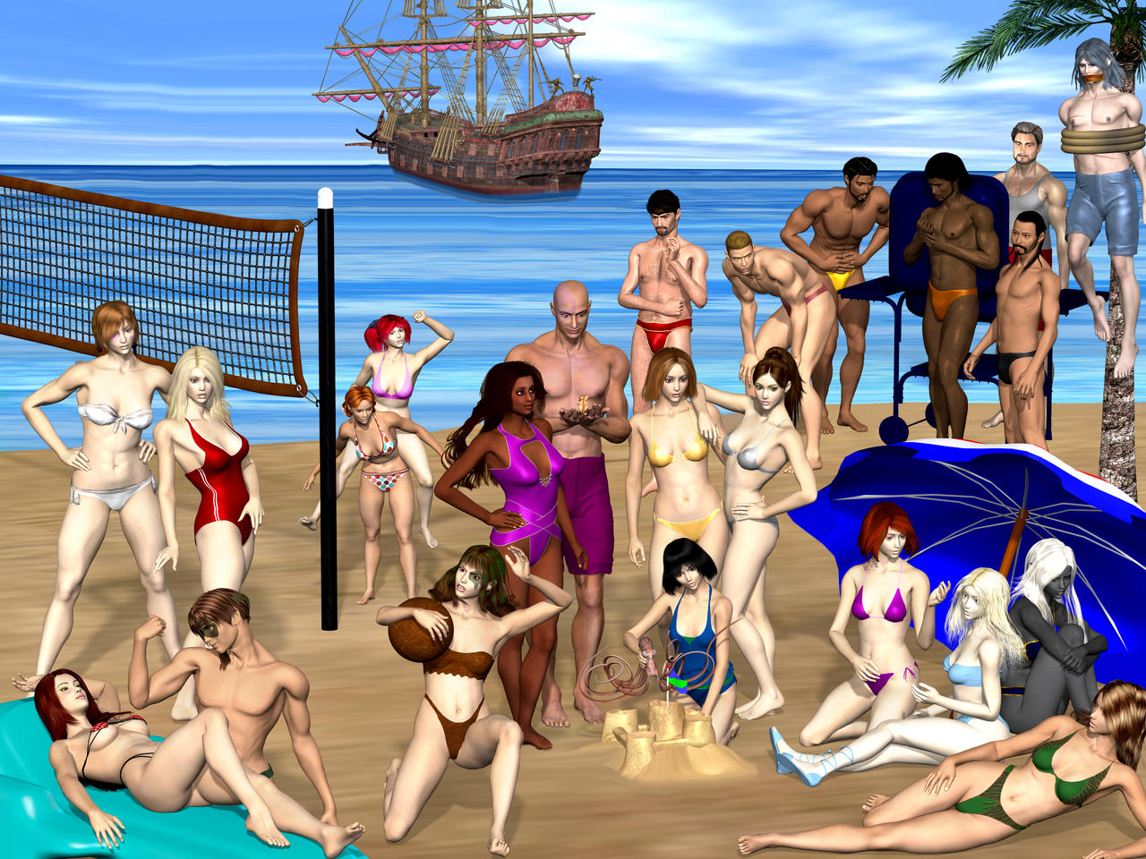 Baldur's gate nude skin adult gallery