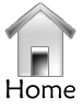 """Home"" icon button by Computer-Turret"