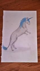 T-Rex/Unicorn by freespirit115
