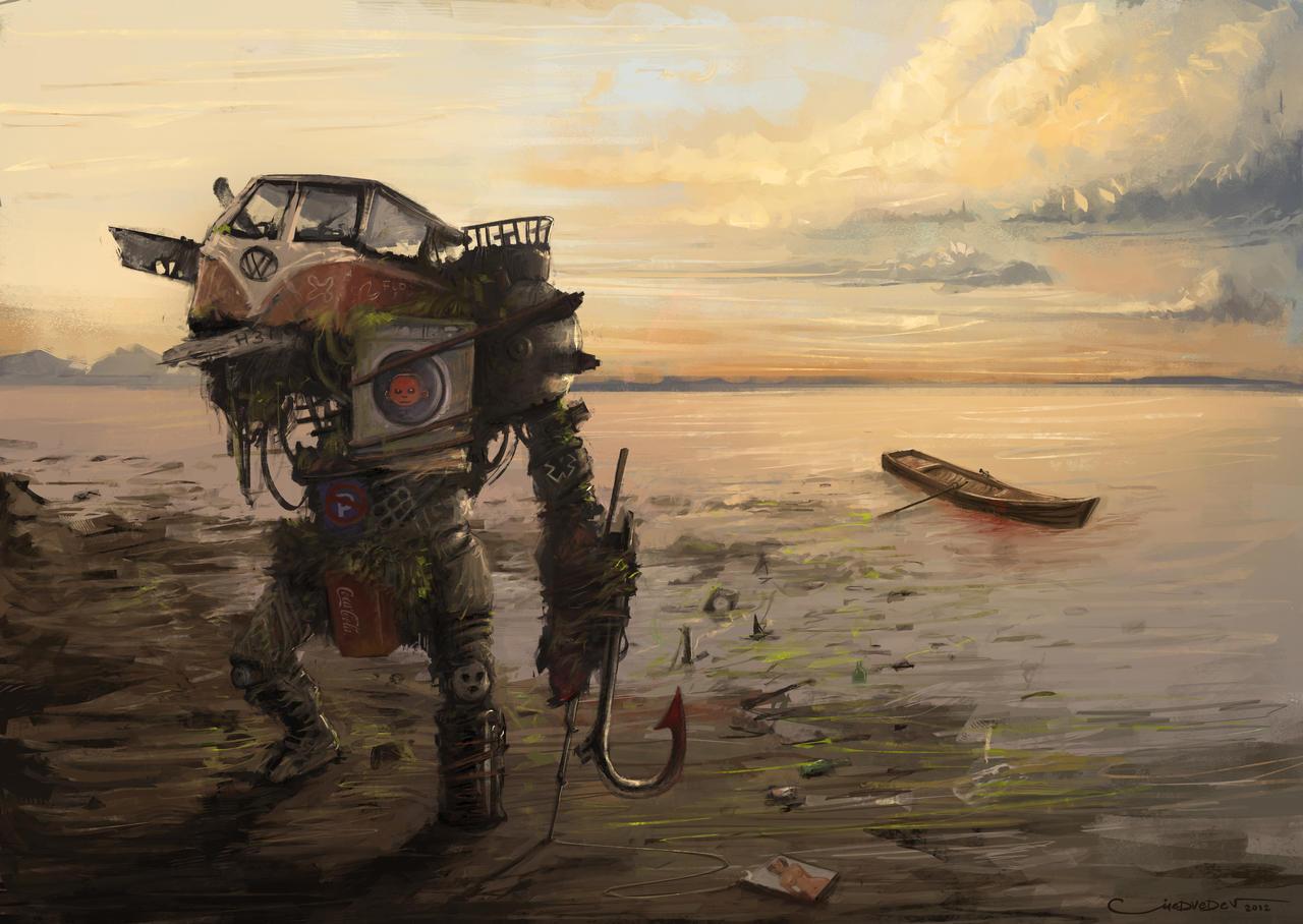 Revenge of the sea by PsyDoxArt