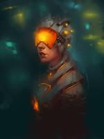 Cyborg sketch by IG000R