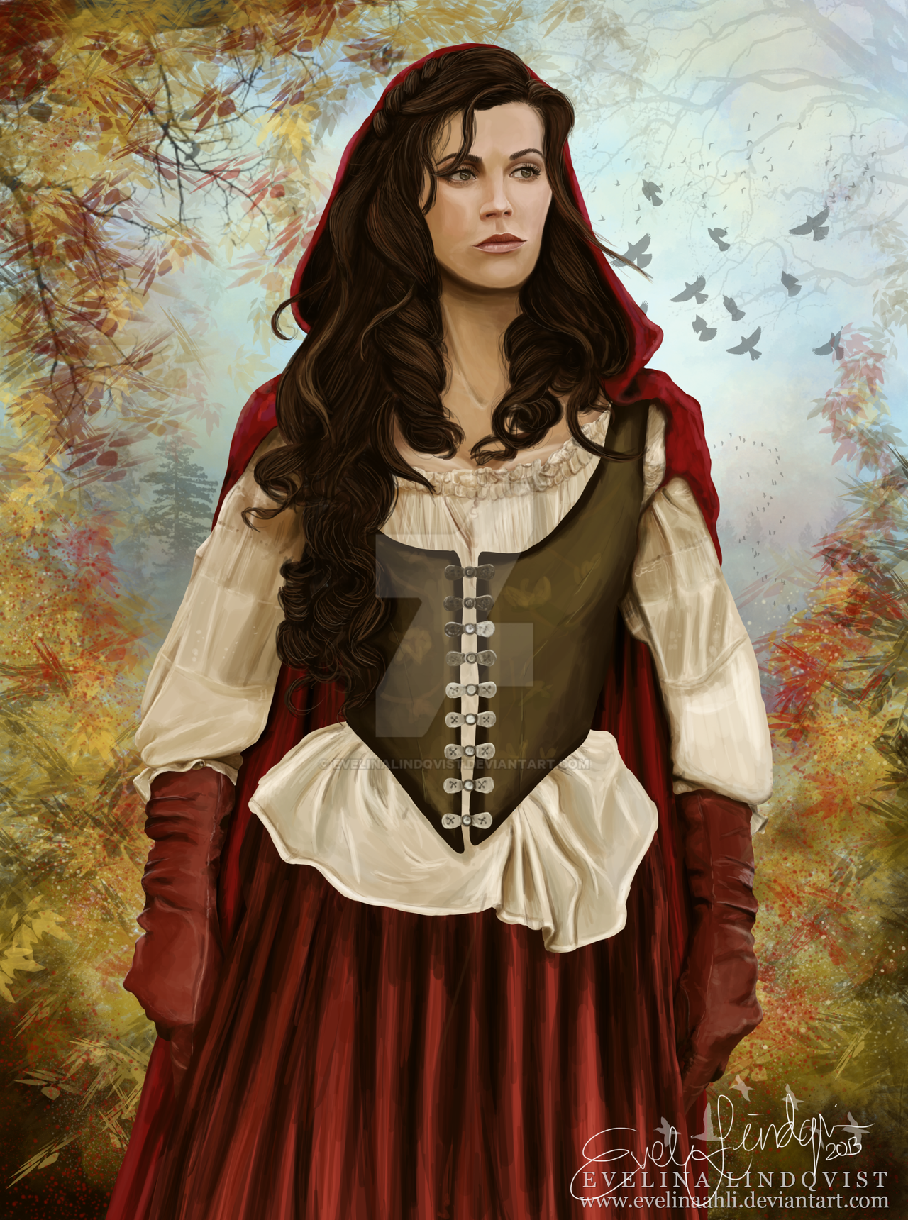 Red Riding Hood - Once Upon A Time by EvelinaLindqvist on