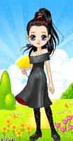 Odette's Winter Date Dress II