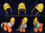 Replica feathers helmet for Wigwam by Soulren