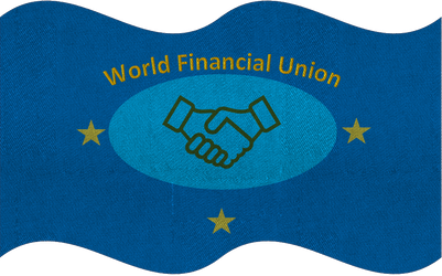 World Financial Union Flag