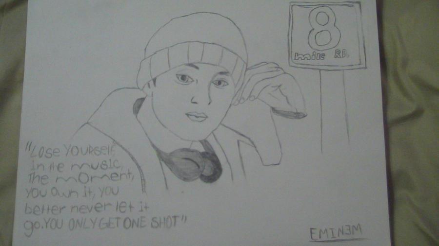Eminem 8 Mile Fan Art by Dylan by PluginCentral on DeviantArt