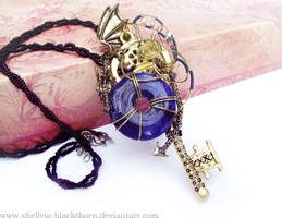 Dragon Key Pendant by HiddenTreasury