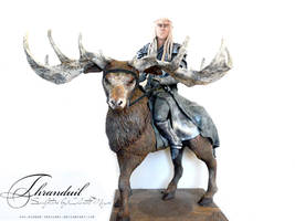 Thranduil Sculpture- lord of the rings