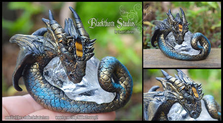 Crystal Dragon Sculpt