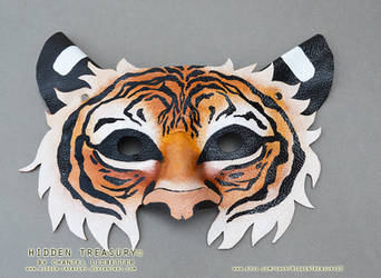 Leather Tiger Mask by HiddenTreasury
