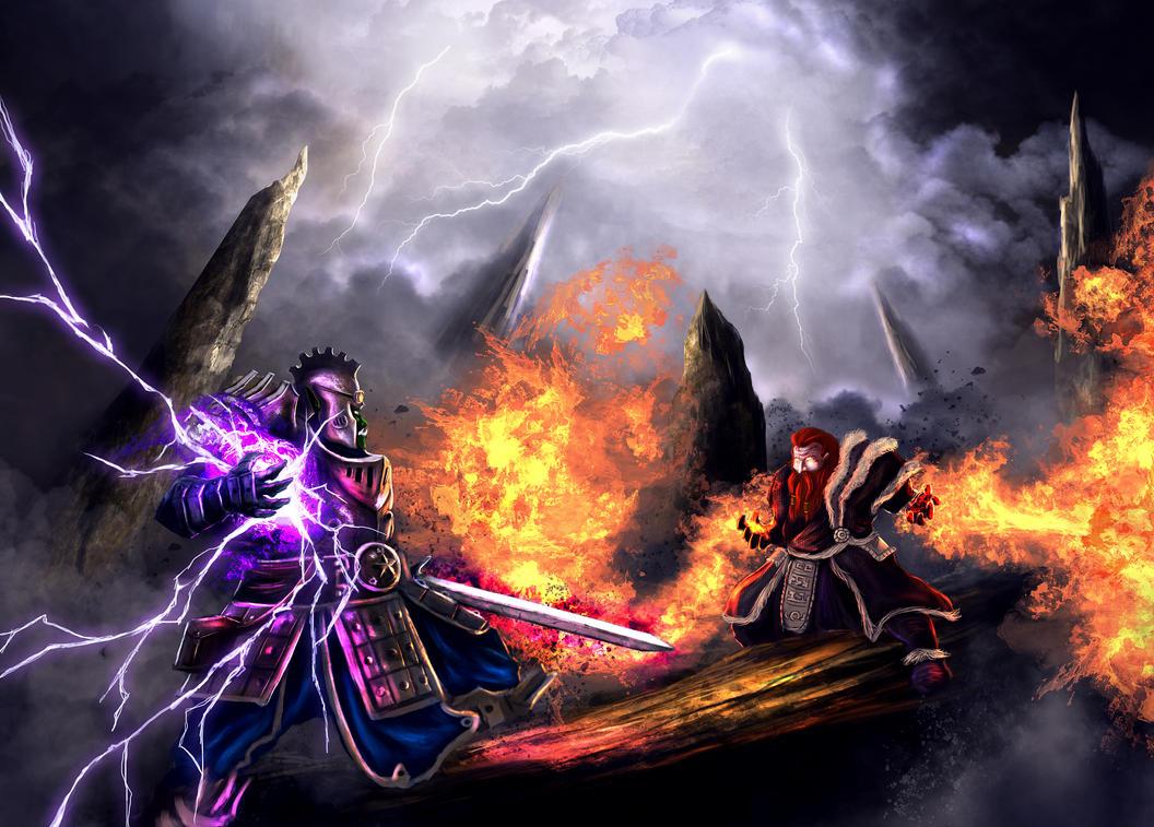 Battle Mage by elartwyne