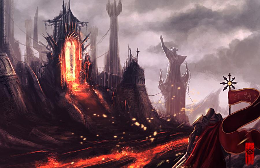 Hell Gate by elartwyne