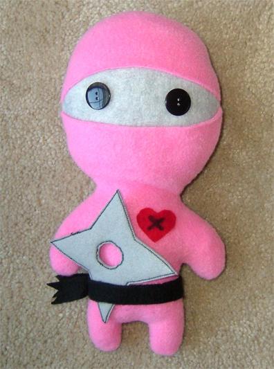 Ninja X Pink v2 by tooaday