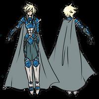 EN : Male Outfit: A Swordsman Guide by Chibi-15