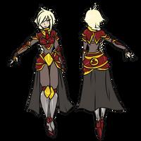 EN : Female Outfit: A Swordsman Guide by Chibi-15