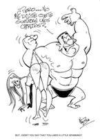 A little spanking by Nik-Zula