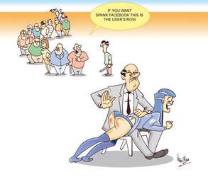 spanking fb girl by Nik-Zula