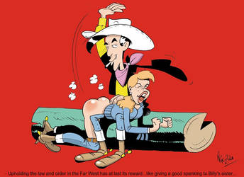 Lucky Luke by Nik-Zula