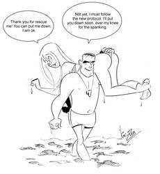 The Spanking Protocol by Nik-Zula