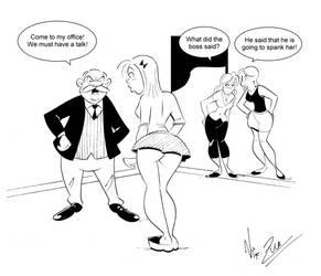 Did He Said Spanking? by Nik-Zula