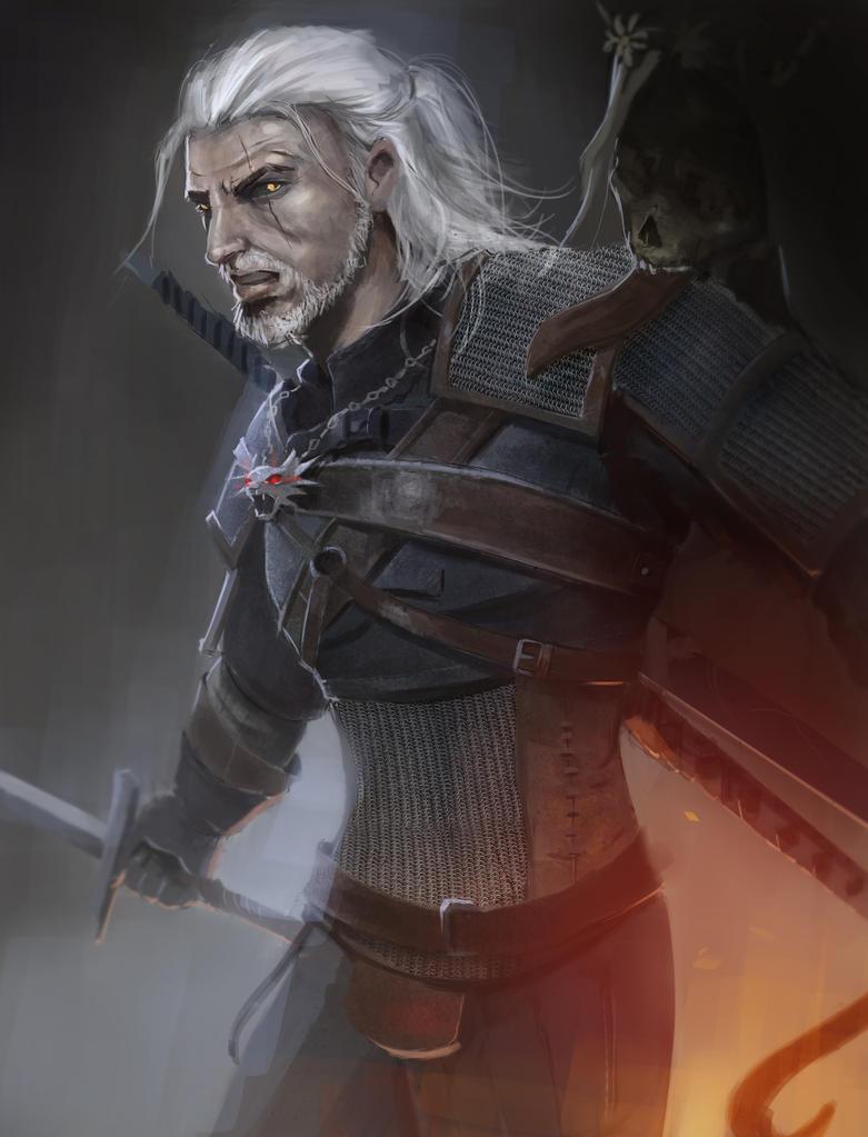 Geralt by TheGFXSyndicate