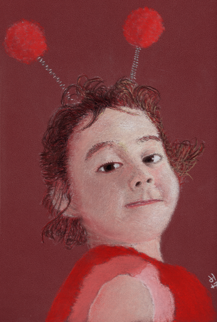 Zara the Ladybird by jerryhat