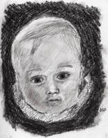 portraits - Jake - charcoal
