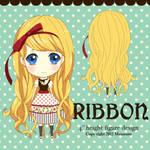 Ribbon Figure design