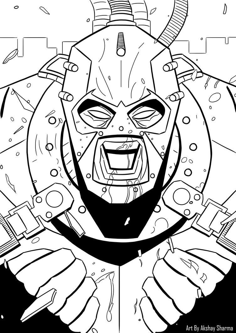 Bane!! by W-Rage