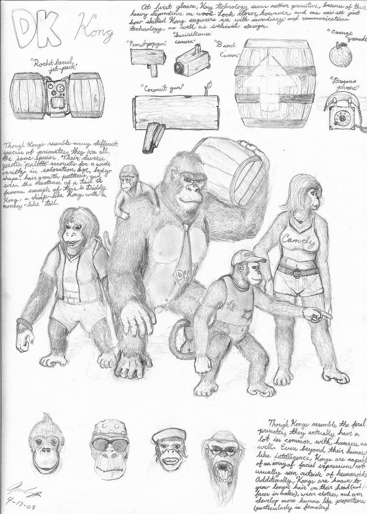 Kong by GnooroopoftheGerudo