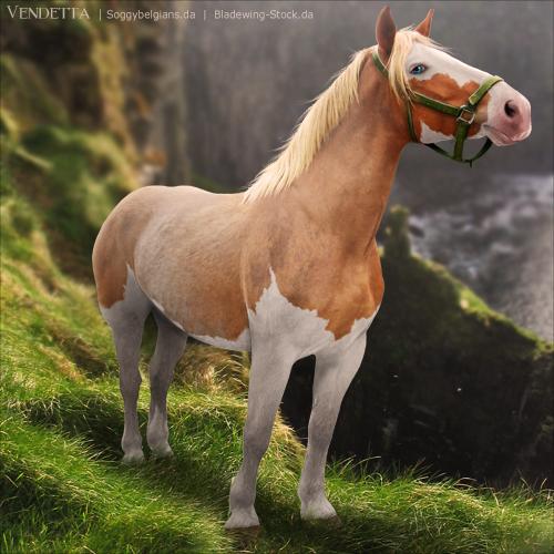 HEE Horse Avatar: Goibniu by VendettaImaging