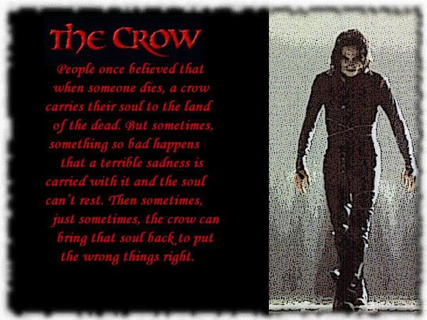 The Crow by lady-hinata on DeviantArt