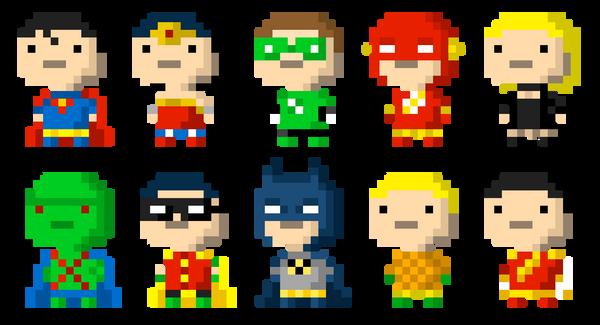 Bitizens of Justice by Mattmadeacomic