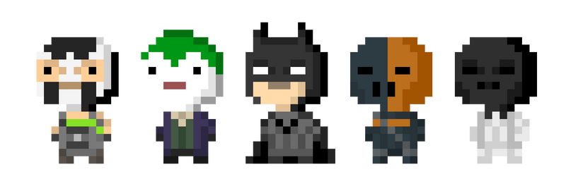 Arkham Bitizens by Mattmadeacomic
