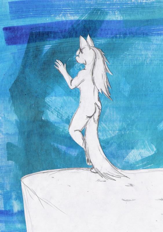 Reaching by Lady-Puma