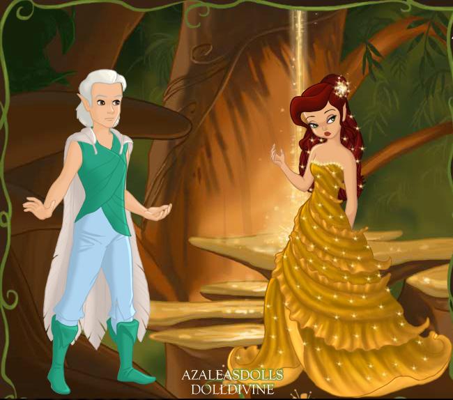 Disney fairies queen clarion and lord milori
