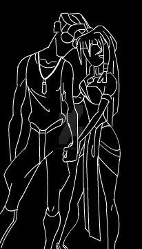 Milo and Kida by LadyDesmoria