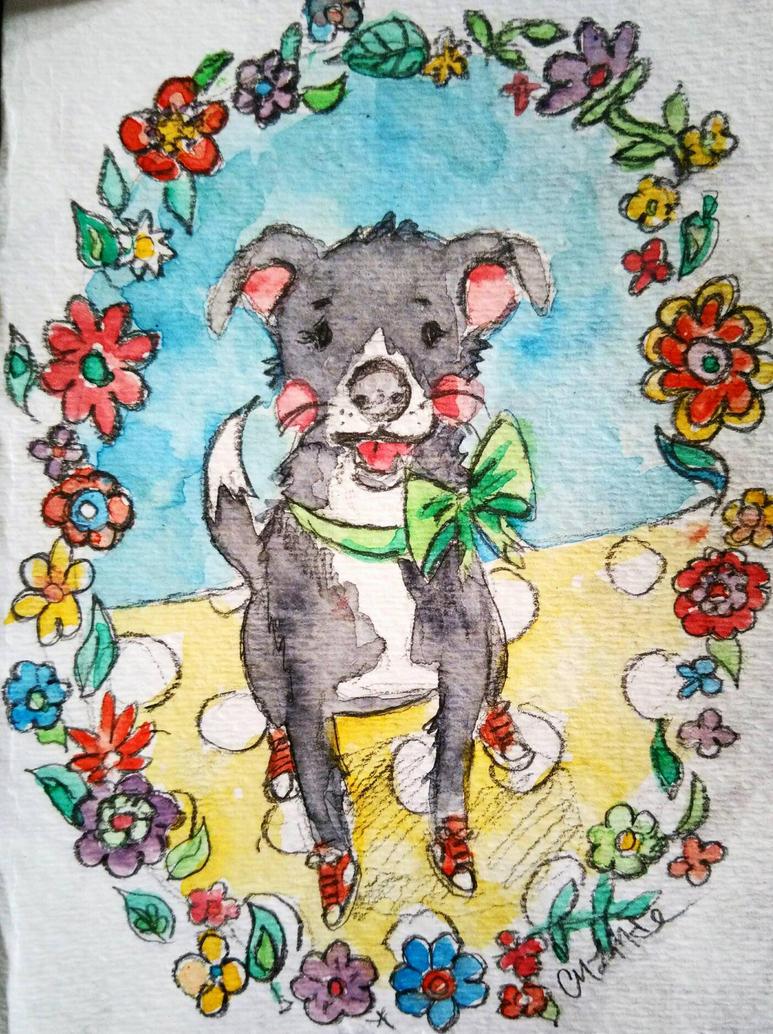 Molly the Dog by kurichaos