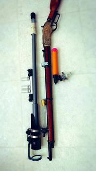 Steampunk rifle WIP