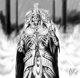 God of the Dead by Alshin