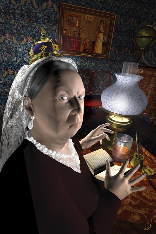 Queen Victoria by boblea