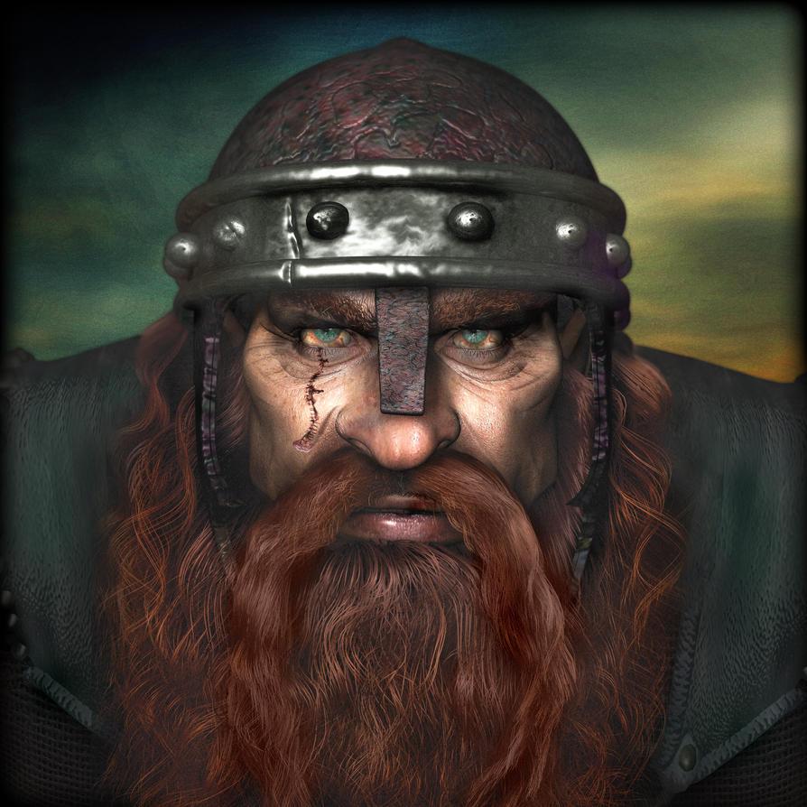 Warrior Dwarf Deux by boblea